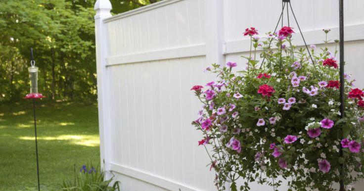 Hängende Blumenkörbe sind eine wunderschöne Idee, um Terrasse oder Garten frühlingshaft zu gestalten. In die Körbe pflanzen Sie um diese Zeit Frühlingsblüher, zum Beispiel Bellis, Männertreu und Primeln. Schon haben Sie eine prächtige, vor Blüten überquellende Frühlingsdeko.