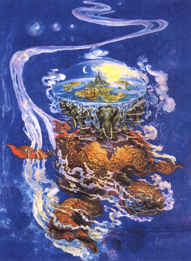Terry Pratchett's Discworld by Josh Kirby