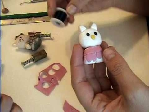 Learn how to sculpt a miniature Hello Kitty doll out of polymer clay with this free video art lesson. While this tutorial is best suited for those with some familiarity of polymer clay sculpture, novice sculpters should be able to follow along given a little effort. For specifics, including step-by-step instructions, watch this sculpture tutorial.Sculpting Hello, Kitty Dolls, Polymer Clay Sculptures, How To, Watches, Hello Kitty