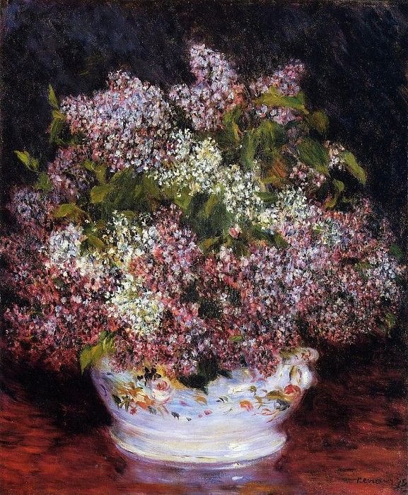 Bouquet of Flowers   -   1878. Пьер Огюст Ренуар