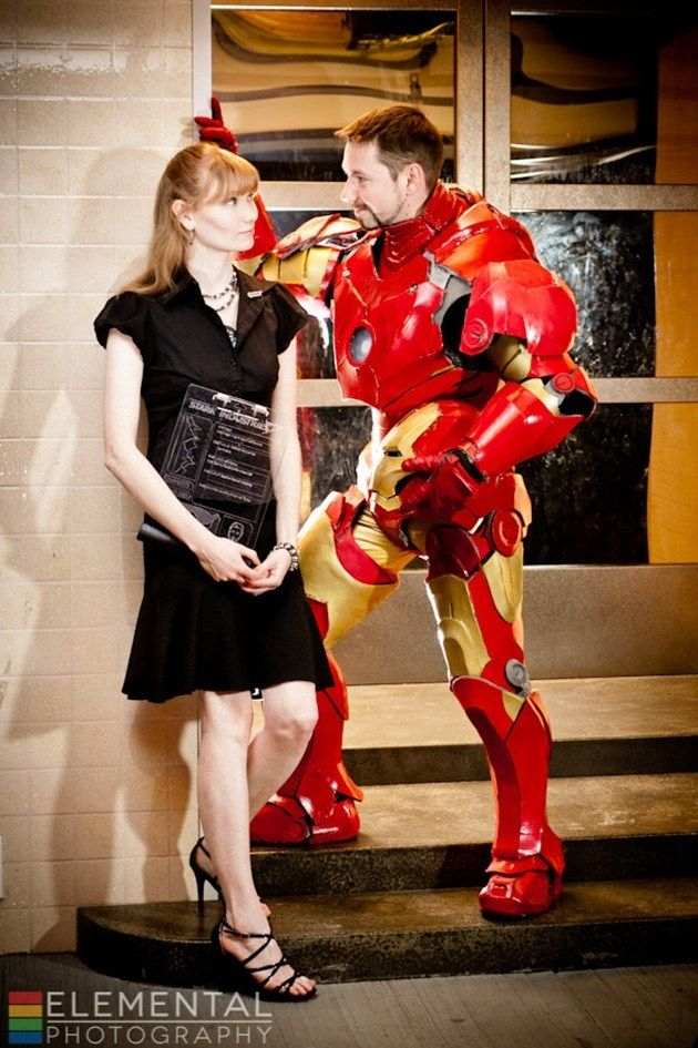 BEST COSPLAY EVER (THIS WEEK)--Pepper Potts & Iron Man Cosplayed by Mai Sheri & KW Iron Man