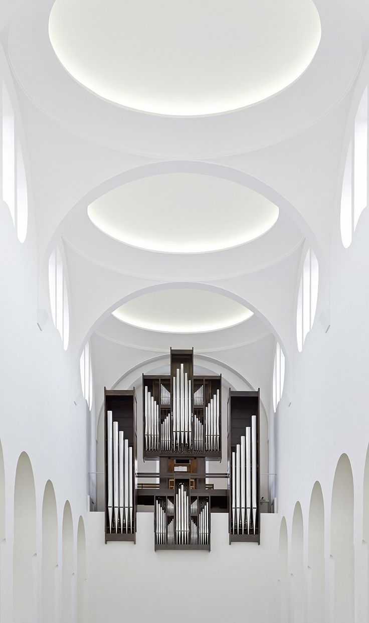 Gallery of interior remodeling of st moritz church john for Interior design augsburg