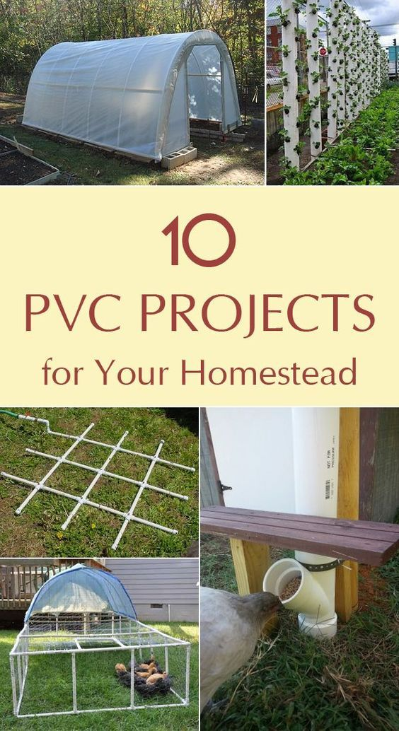 10 Brilliant PVC Projects for Your Homestead