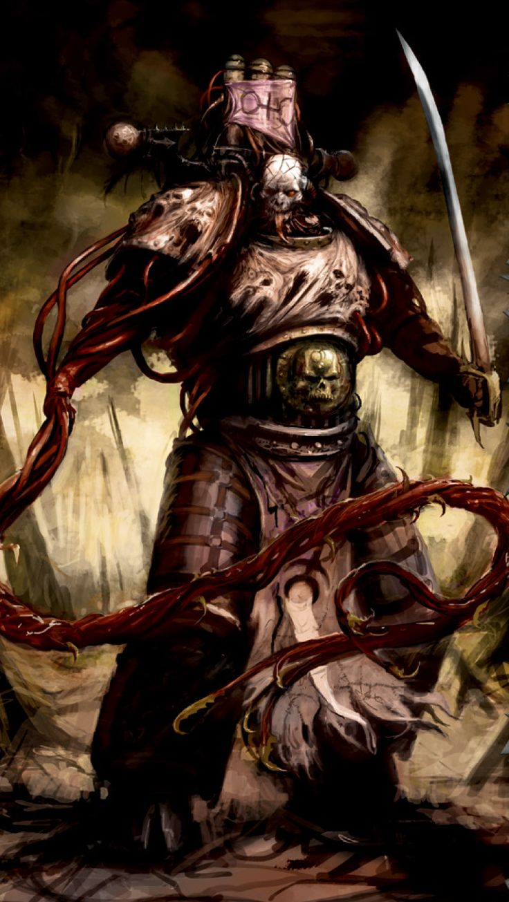 Lucius the Eternal is the Champion of the Chaos God Slaanesh and a Lord Commander of the Emperor's Children Traitor Legion