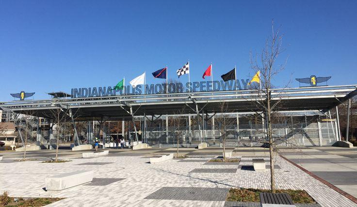 Indianapolis Motor Speedway Gate 1, Sunday, Jan. 1, 2017.