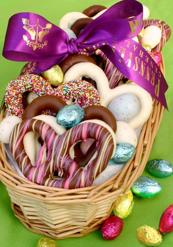 70 best easter images on pinterest chocolates easter baskets yum great easter gift for parents and grand parents negle Images