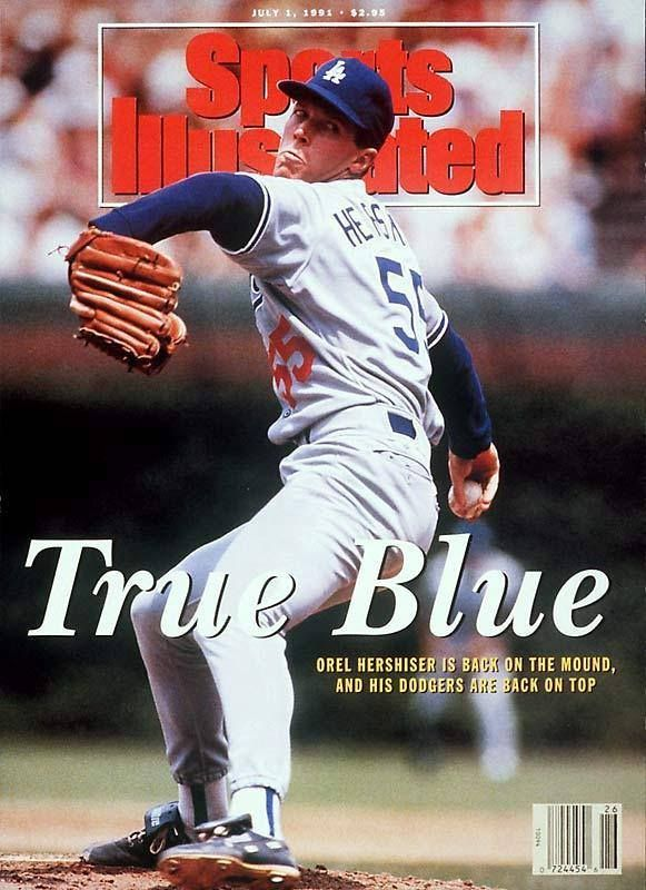 Orel Sports Illustrated Cover