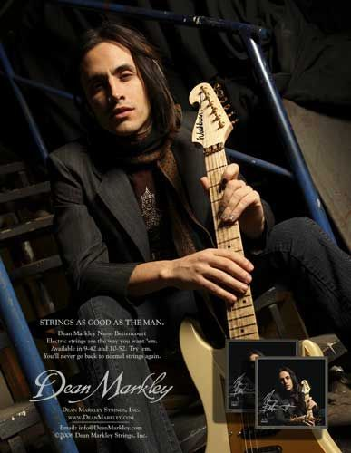 Nuno Bettencourt for Dean Markley