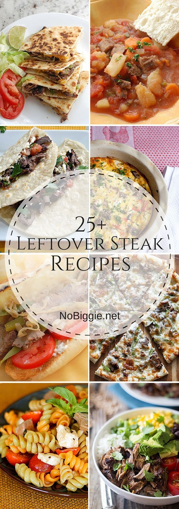 25+ Leftover Steak Recipes | NoBiggie.net