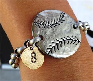Baseball Bracelet -- The Basketry Inc Online Store