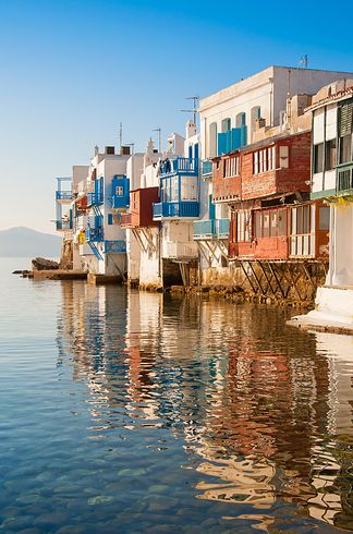 Greece, village on the water
