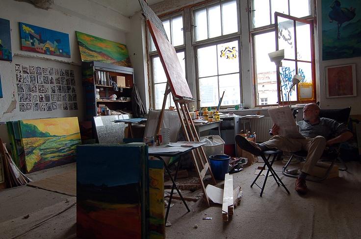 Witte's studio :: Berlin