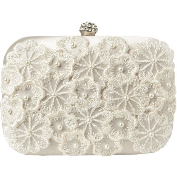Alice Floral Clutch Bag ($75) ❤ liked on Polyvore