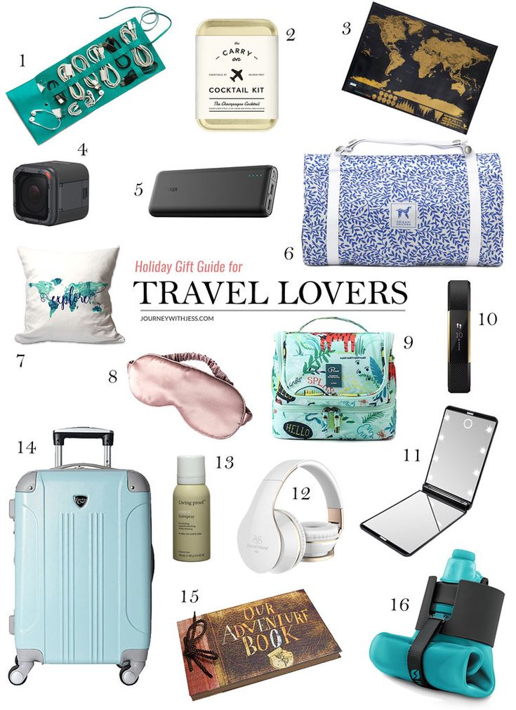 25 unique holiday gift guide ideas on pinterest girl for Birthday gifts for travel lovers