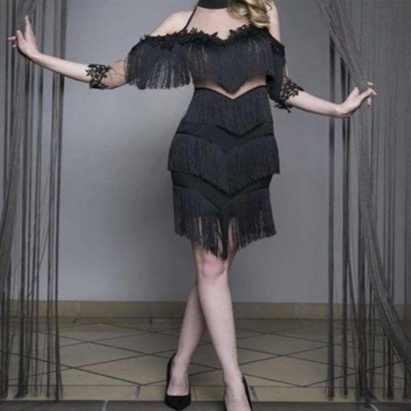 Siyah Puskullu Elbise Elbise Elbise Modelleri Kalem Elbise