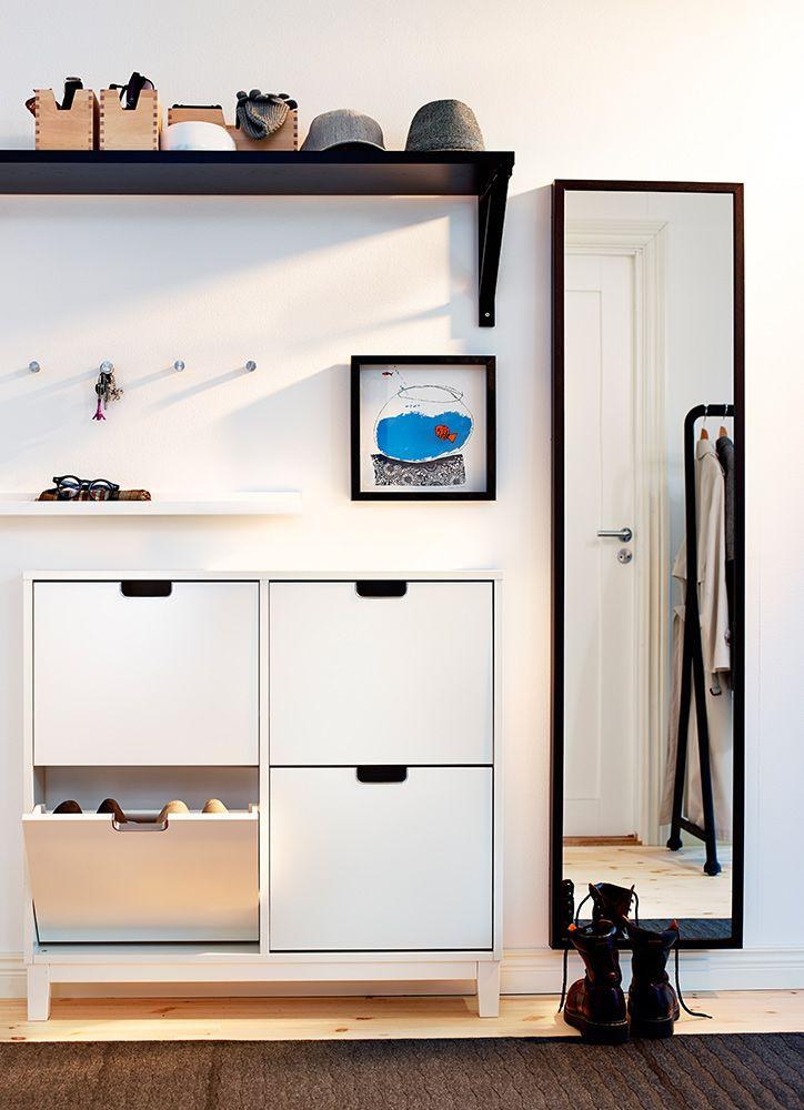 El recibidor de tu casa debe ser un espacio muy agradable for Entradas de casa ikea