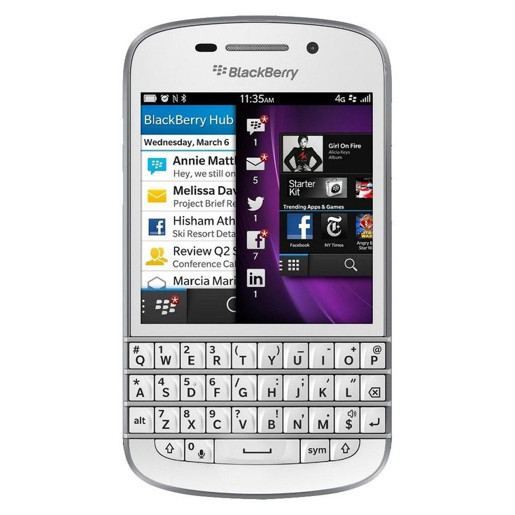 Blackberry Q10 Factory Unlocked Cell Phone for GSM Compatible