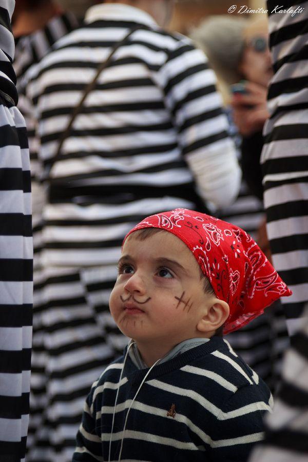 The Young Greek Pirate, Kalamata Carnival, Greece