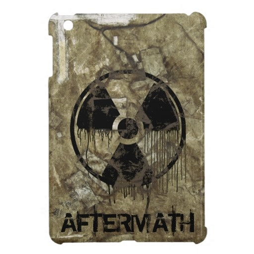 AFTERMATH CASE FOR THE iPad MINI. A Post-apocalyptic, fully customizable design by BannedWare.