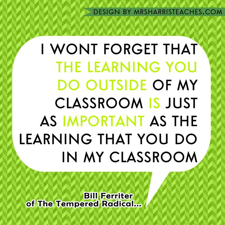I wont neglect that the educational you do exterior of my classroom is simply as import…