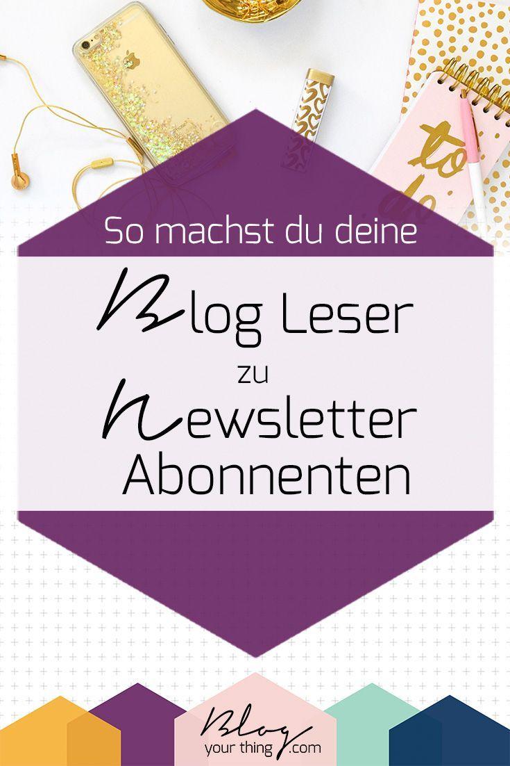 So lässt du deinen Blog für dich arbeiten und machst deine Blog Leser kinderleicht zu Newsletter Abonnenten. Klick hier, um den ganzen Artikel zu lesen oder merke ihn dir für später! (scheduled via http://www.tailwindapp.com?utm_source=pinterest&utm_medium=twpin&utm_content=post100551373&utm_campaign=scheduler_attribution)