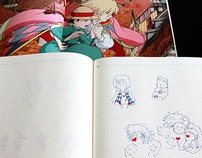 "Check out new work on my @Behance portfolio: ""Нарисовано по мотивам аниме ""Ходячий замок Хаула"""" http://be.net/gallery/50208731/narisovano-po-motivam-anime-hodjachij-zamok-haula"