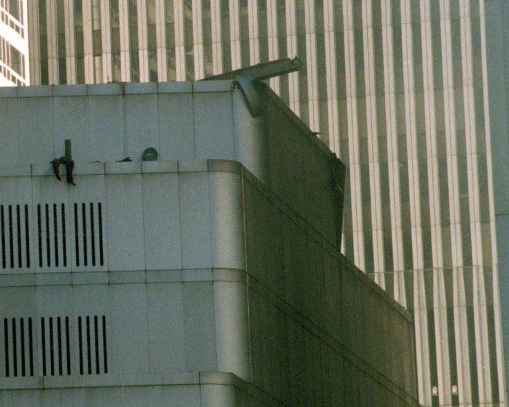 WTC Body (legs hanging over edge)