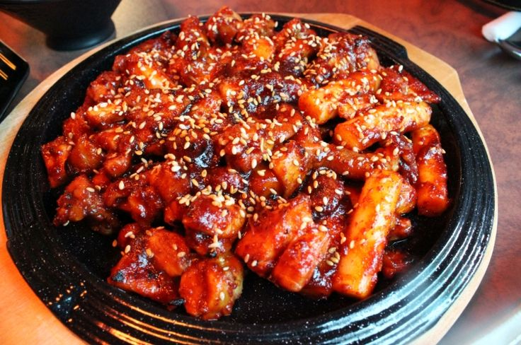 Korean Hot &Spicy Chicken (불닭 Bul-dak)