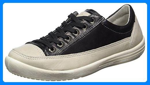Legero Damen Tino Sneaker, Schwarz (Schwarz), 42.5 EU (8.5 UK) - Sneakers für frauen (*Partner-Link)