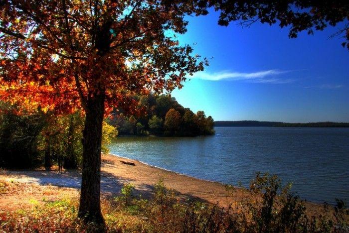 10 beautiful Oklahoma lakes