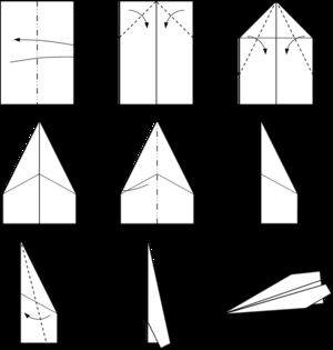 Paper plane - Wikipedia, the free encyclopedia