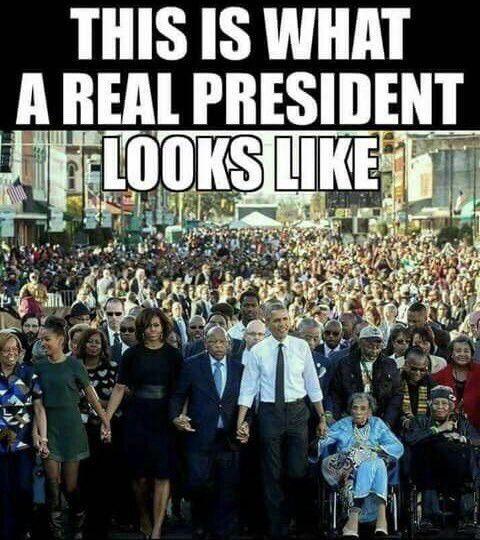 President Barack Obama and Michelle!
