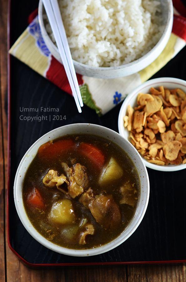 japanese chicken curry kare raisu japanese chicken chicken curry ...