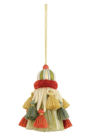 FSchumacher Fabric Trim 63321 Somerset Key Tassel Bloom