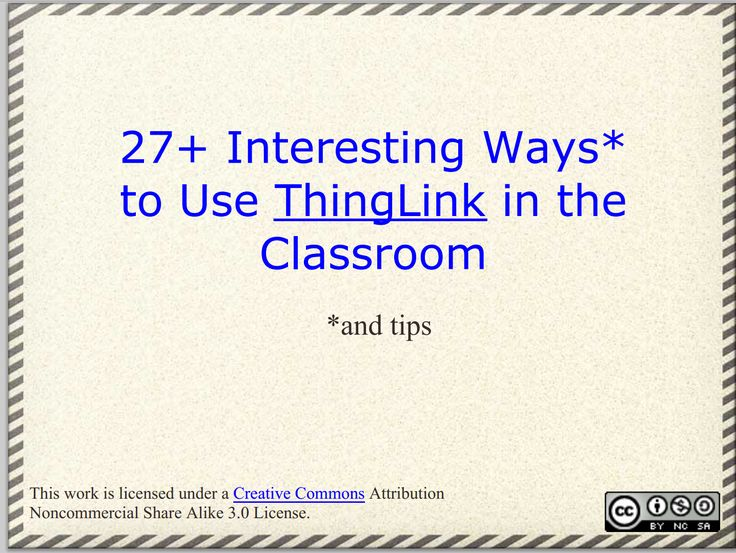 Teachers Guide to Creating Rich Interactive Visuals Using ThingLink ~ Educational Technology and Mobile Learning
