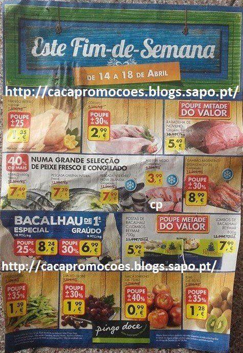 Promoções Pingo Doce - Antevisão Folheto Fim de Semana 14 a 18 abril - http://parapoupar.com/promocoes-pingo-doce-antevisao-folheto-fim-de-semana-14-a-18-abril/