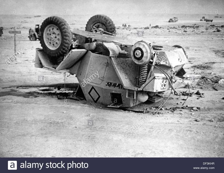 The image from the Nazi Propaganda depicts a destroyed British armored car in Africa, published on 13 February 1942. Place unknown. Photo: Berliner Verlag/Archiv - DF3KHR from Alamy's library of millions of high resolution stock photos, illustrations and vectors. Pin by Paolo Marzioli