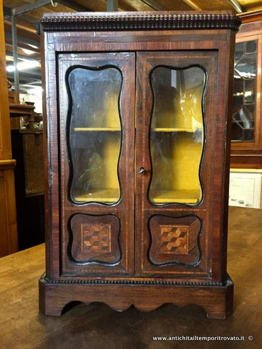 mobili bar antichi : Mobili antichi - Mobili vari Antica vetrina Napoleone III in miniatura ...