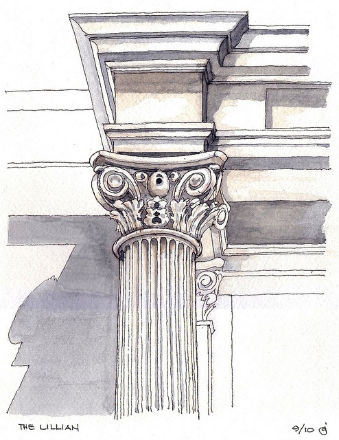 'The Lillian' Column Capital by James Anzalone, via Flickr