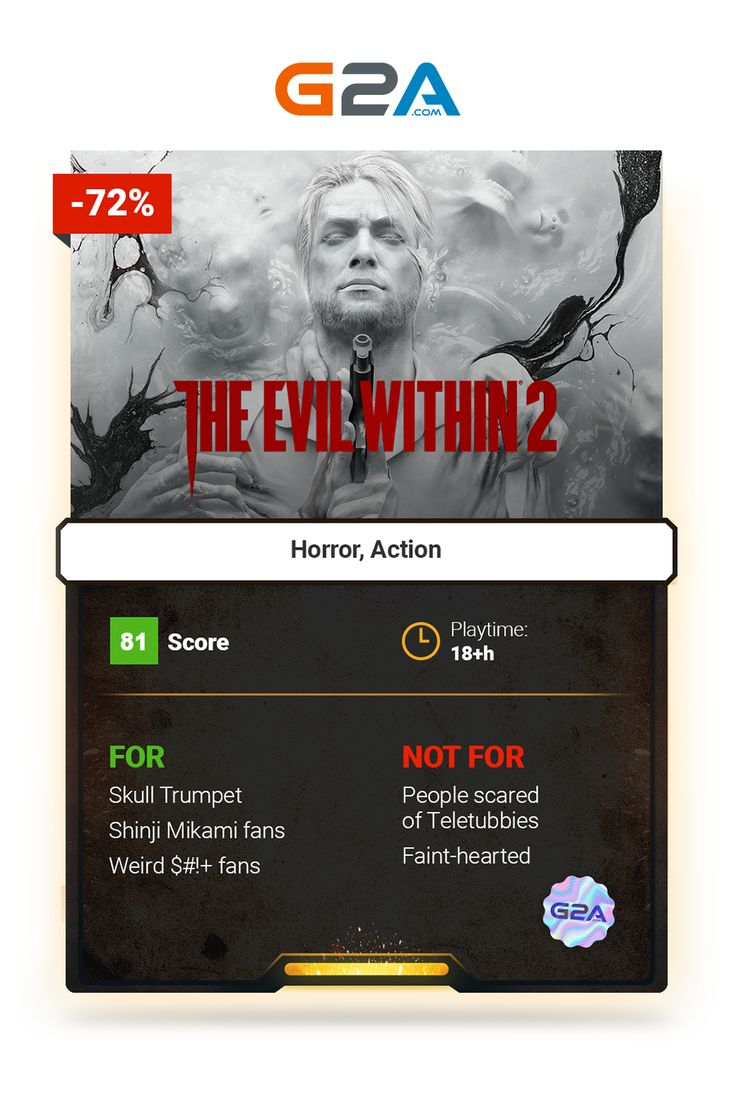The Evil Within 2 #horror #action #gaming #inspirational