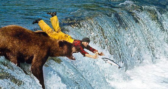 i shalll sacrifice myself to the bear