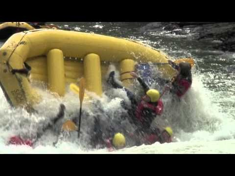 Rafting on the Sjoa River in Norway