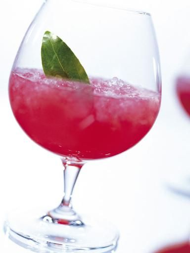 Cocktail Rouge champagne - Recette