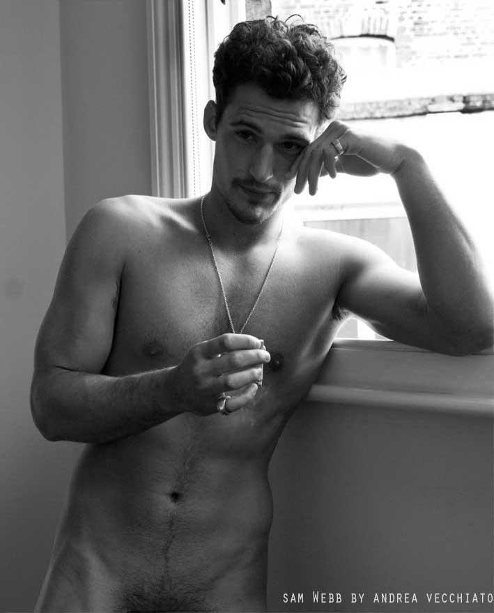 Fashion male model nude 34