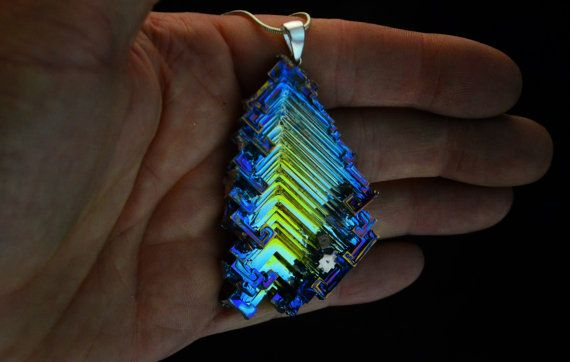 Fireflies in the Valley Iridescent Bismuth Metal by Element83