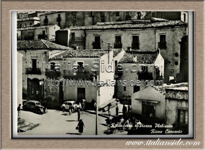 Greetings from old Rotondella - Discover Your Italian Roots with ItalianSide