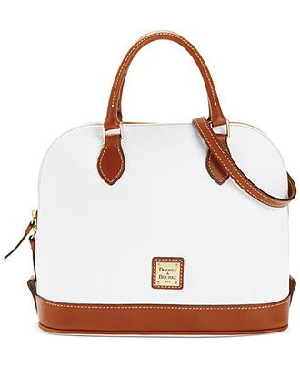 Dooney & Bourke Zip Top Satchel - Dooney & Bourke - Handbags & Accessories - Macy's