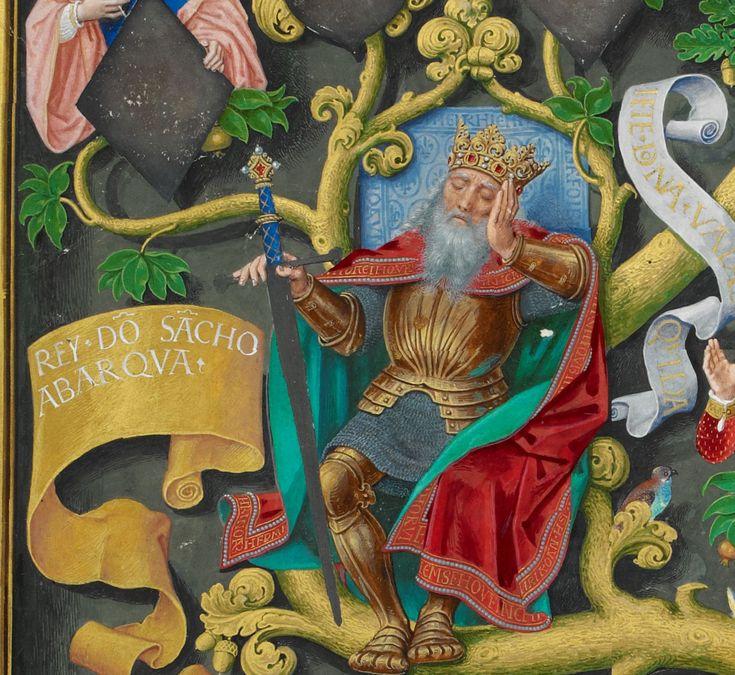 Sancho II Abarqua (Abarca), King of Navarre.