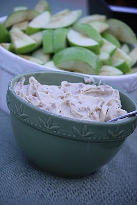 brown sugar toffee apple dip, already knew this one but i KNOW its good so I thought i'd share :)