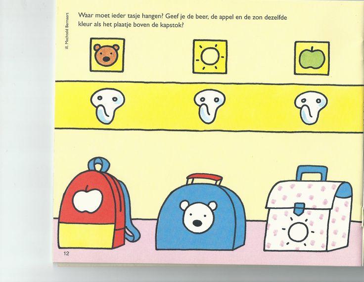 waar moet de boekentas hangen